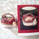 1994 Grandmother Hallmark Christmas Ornament Basket