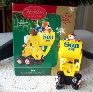 Front End Loader Carlton Son 2006 Christmas Ornament