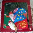 Santa Godchild Christmas Ornament 2001 Carlton
