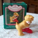 Cinnamon Bear Hallmark 5th in Series Porcelain 1987