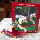 Rocking Horse Fun 4th in series Carlton Christmas Ornament 2001