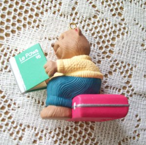 Dad to Be Hallmark 1995 Christmas Ornament Bear
