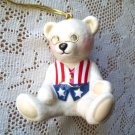 Teddy Bear by Lenox 100th Anniversary Patriotic