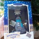 Snow News is Good News from Hallmark Santa's Land Collection Snowman 2003