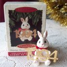 1994 Fabulous Decade Ornament fifth in series Rabbit