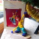 One Cool Snowboarder by Hallmark 2002 Christmas Ornament
