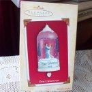 Our Christmas Dancing 2004 Hallmark Twirl Dome Ornament