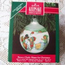 Betsey Clark #6 Home for Christmas Glass Ball 1991 Hallmark