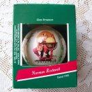 Norman Rockwell Christmas Ornament Hallmark 1989