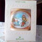 Betsey Clark #9 Christmas 1981 Hallmark Satin Ball Ornament
