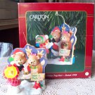 First Christmas Together Carlton Ornament 1998 Bears