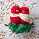 Clip On Hallmark Ornament 1994 Our Christmas Together Birds