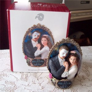 First in the Phantom of the Opera series Carlton Ornament 2007 Think ...