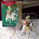 Baby's Second Christmas Carousel Horse Carlton 2004