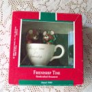 Hallmark Friendship Time 1989 Christmas Ornament Tea Cup