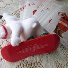 Cool Sport 2001 Coca Cola Bear Hallmark Ornament Coke Santa Playing Cards