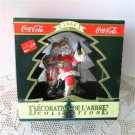 1964 Coca Cola Santa Art by Cavanagh 1990 Coke Christmas Ornament