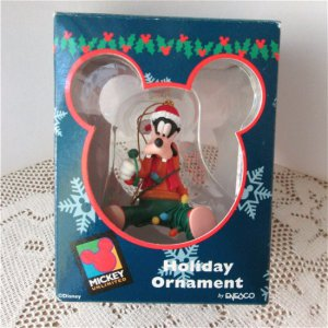 Mickey Unlimited Goofy Disney Christmas Ornament