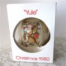 Schmid Leyendecker 1980 Yule Norman Rockwell Christmas Ornament