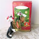 Hallmark Ornament Sylvester's Bang Up Gift Tweety 2001 Looney Tunes