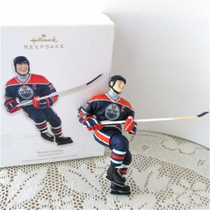 wayne gretzky edmonton oilers 2011 hallmark ornament nhl hockey greats