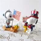 Spaceman and Winning Ticket Spotlight on Snoopy 2004 2007 Hallmark Ornaments