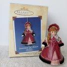 Madame Alexander Little Women #2 Jo Josephine March 2002 Hallmark Ornament