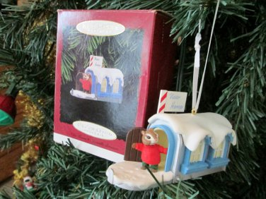 Hallmark New Home Christmas Ornament Mailbox 1996 Keepsake