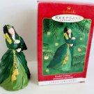 Hallmark 4th in the Scarlett O'Hara series ornament 2000