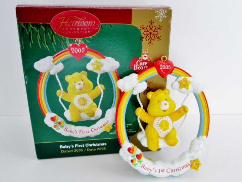 Baby's First Christmas 2005 Care Bears ornament by Carlton ...
