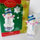 Ice Pals Carlton 2006 Christmas Ornament Snowman 15th in series
