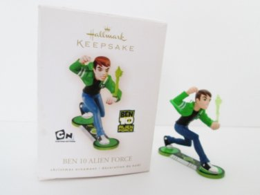 Hallmark Ben 10 Alien Force from Cartoon Networks Show 2009 Christmas Ornament Super Hero