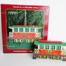 Carlton Wonderland Express 1999 Passenger Coach Train Ornament 4th in Series