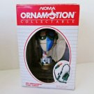 Noma Santas Hot Air Balloon Ornamotion Rotating Ornament in original box