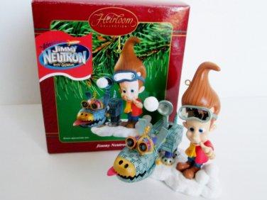 Jimmy Neutron Boy Genius Carlton Christmas Ornament 2002 Nickelodeon