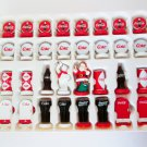 Coke vs Coca Cola Chess Game Board Collectors Edition 2002 Red White USAapoly Polar Bear Santa