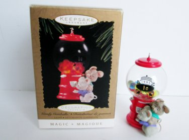 Goody Gumballs Light Magic 1995 Hallmark Ornament Mice Pals