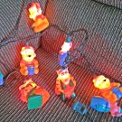Disney Winnie the Pooh 10 Light Indoor Christmas Lights Tigger Piglet