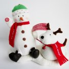 Jingle Pals 2004 Singing Snowman Dog Hallmark Animated plush Dance, Sing and Bark to Jingle Bells