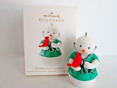 Kindhearted Caregiver Hallmark 2011 Christmas Ornament Stethoscope Nurse Doctor Health Care Provider