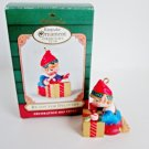 Hallmark Ornament Ready for Delivery 2001 Christmas Gift Elf Club Exclusive Ornament