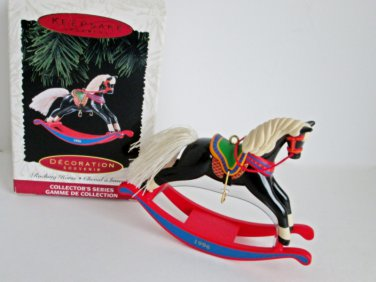 16th in Rocking Horse Collectors Series 1996 Hallmark Christmas Ornament