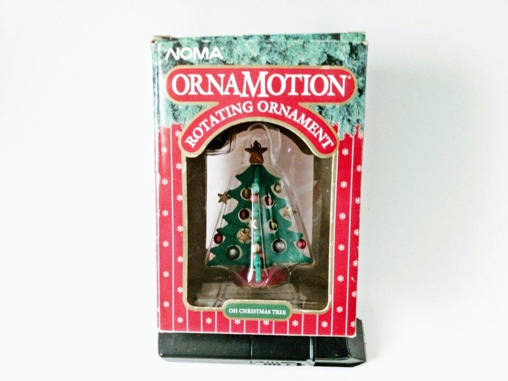 Noma Ornamotion Christmas Tree Rotating Ornament