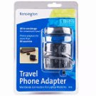 Kensington 33135 International Travel Phone Adapter, new