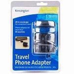 Kensington 33135 International Travel Phone Adapter, new
