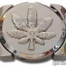 Pot-Leaf Lighter Belt Buckle