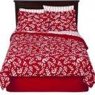 Room Essentials Red Vine 6 Piece Twin Bedding Set