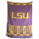 LSU Louisiana State Tigers Shawl Scarf