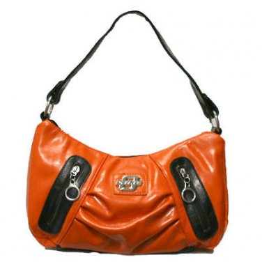 Oklahoma State Cowboys PVC Impact Handbag w/ Metal logo