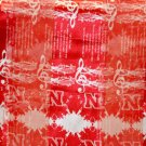 Nebraska Cornhuskers Polyester Ncaa Fight Song Scarfs